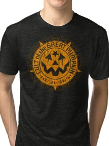 Cult of the Great Pumpkin: Alchemy Logo Tri-blend T-Shirt