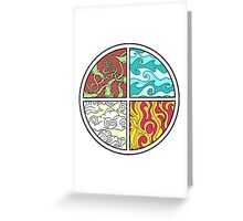 Elemental Greeting Card