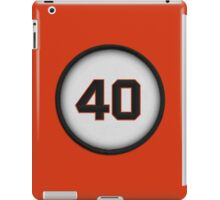 40 - Mad Bum (alt version) iPad Case/Skin