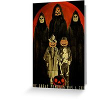 Cult of the Great Pumpkin: Trick or Treat Greeting Card