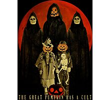 Cult of the Great Pumpkin: Trick or Treat Photographic Print