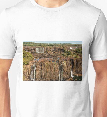 Iguazu Falls - Multi Level Falls Unisex T-Shirt