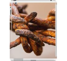 Rusty Barbed Wire iPad Case/Skin