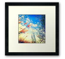 COLORFUL SKY Framed Print