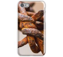 Rusty Barbed Wire iPhone Case/Skin
