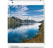 Beautiful Lake Wakatipu New Zealand iPad Case/Skin
