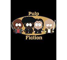 South Park Pulp Fiction Photographic Print