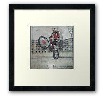 Urban Biker  Framed Print