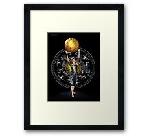 To Take the World .. Because I can Framed Print