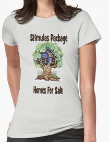 Stimulas Package Womens Fitted T-Shirt