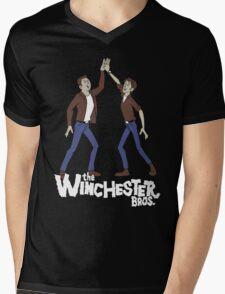 The Winchester Bros Mens V-Neck T-Shirt