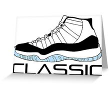 Classic J11- Concords Greeting Card