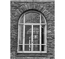Hayfield House, Window Detail Photographic Print