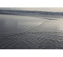 Patterns in the Surf Photographic Print