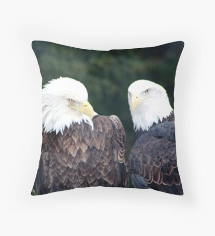 what a pair Throw Pillow
