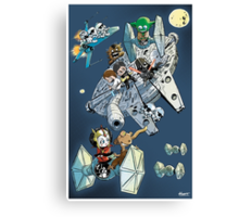 Star Wars cute Canvas Print