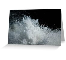 Frothy Greeting Card