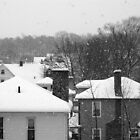 Snowy Buildings by NJC Photography