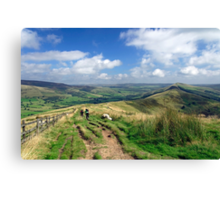 The Great Ridge, to Lose Hill Canvas Print
