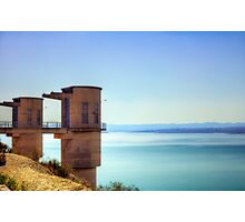 Embalse De La Pedera Photographic Print