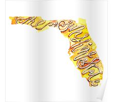 Florida – the Sunshine State Poster