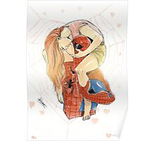 Spidey and MJ Poster