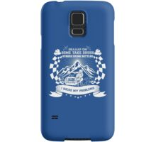 Braaap On Some Take Drugs Others Drink Bottles I Solve My Problems Samsung Galaxy Case/Skin