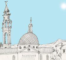 Italy - St. Spirito in Firenze by James Lewis Hamilton