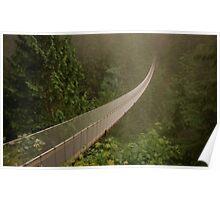 Capilano Suspension Bridge-Soft Side Poster