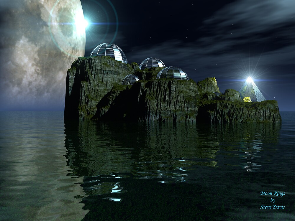 Moon Rings by Steve Davis