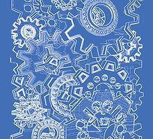 GEARS BLUEPRINT by Jamie Rice