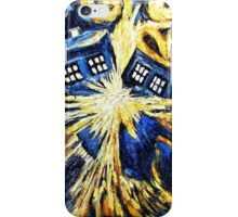 Doctor Who - Tardis Exploding by Van Gogh iPhone Case/Skin