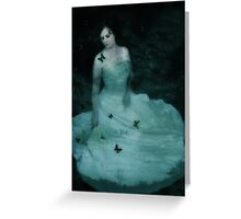 Dreaming Woman Greeting Card