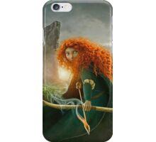 The Brave - Merida Portrait iPhone Case/Skin