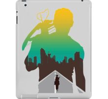 The Walking Dead - Daryl Silhouette (Rick On The Road) iPad Case/Skin