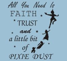Peter Pan - All You Need to Fly T-Shirt