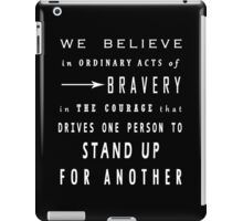 DVRGNT - Quote by Veronica Roth iPad Case/Skin