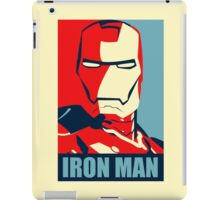 The Avengers - Vote for Iron Man iPad Case/Skin