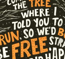 Hunger Games - The Hanging Tree Song Sticker