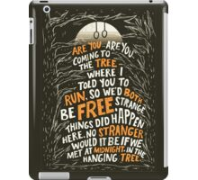 Hunger Games - The Hanging Tree Song iPad Case/Skin