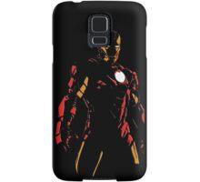 The Avengers - Iron Man Minimal Figure Black Background (2) Samsung Galaxy Case/Skin