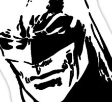 Batman - Minimal Figure the Dark Knight Sticker