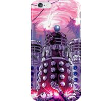 Doctor Who - Daleks Invading the Earth iPhone Case/Skin