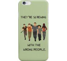 The Walking Dead - Carl, Rick, Glenn, Daryl, Michonne iPhone Case/Skin