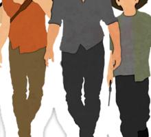 The Walking Dead - Carl, Rick, Glenn, Daryl, Michonne Sticker