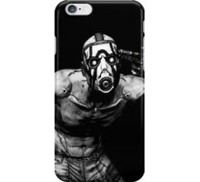 Borderlands - Psycho Black and White (2) iPhone Case/Skin