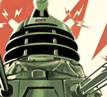 Doctor Who - Daleks to Victory Sticker