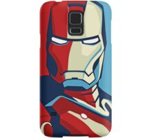 The Avengers - Vote for Iron Man (2) Samsung Galaxy Case/Skin