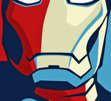 The Avengers - Vote for Iron Man (2) Sticker