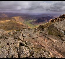 Windermere View from Harrison Stickle by Shaun Whiteman